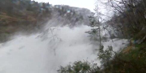 Norvēģiju pārņem pamatīgi plūdi