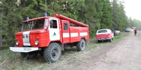 Igaunijā plosās mežu ugunsgrēki