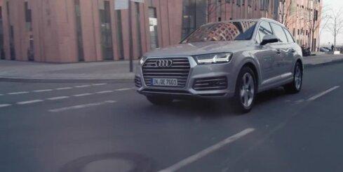 'Audi Q7 e-tron' hibrīda apvidnieks