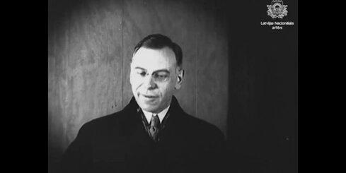 Arhīva video: Zigfrīds Anna Meierovics 1925. gadā