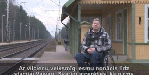 Vilcieni kļūst pieejamāki invalīdiem