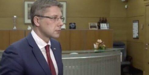 Saistībā ar sākto kriminālprocesu Ušakovs atstādina no amata 'Rīgas satiksmes' vadītāju Bemhenu