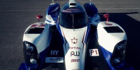 'Toyota' sacīkšu hibrīds ar 1000 ZS