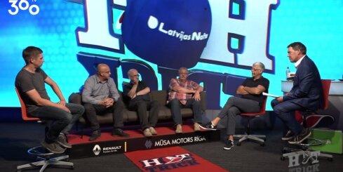 Raidījuma 'Hattrick' diskusijā uzsver sportistu ģimenes nozīmi