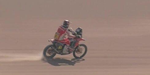 Roma un Rodrigess uzvar 'Dakaras' rallijreida devītajā posmā