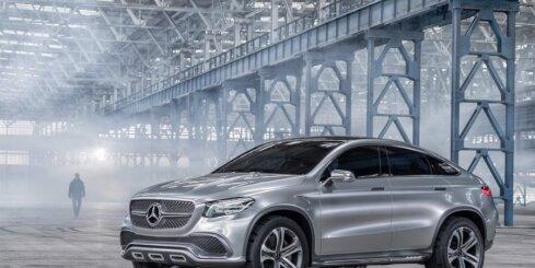 'Mercedes-Benz' izvēlējies nosaukumu savam 'BMW X6' konkurentam