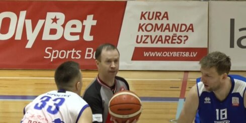'OlyBet' basketbola līga: 'Ogre' - 'Valga-Valka/Maks&Moorits'. Labākie momenti