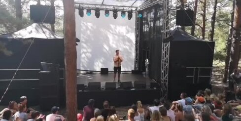 'Comedy Latvia' šovs festivālā 'Positivus'