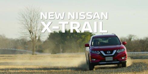 'Nissan' modernizējis 'X-Trail' modeli