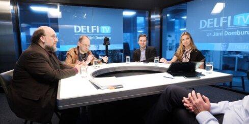 'Jaunā vara — ko gribam un ko vajag?' — tiešraide 'Delfi TV ar Jāni Domburu'