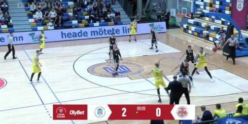 OlyBet basketbola līga: Ventspils - Tartu Ulikool