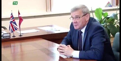 Daugavpilī ierodas Lielbritānijas diplomāts Tims Kollijs