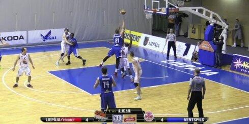 'Ventspils' basketbolisti nodrošina pirmo vietu LBL regulārajā turnīrā