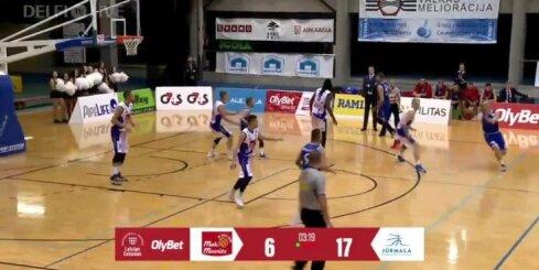 'Jūrmalas' basketbolisti viesos uzvar 'Valga-Valka/Maks&Moorits'