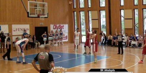 'Aldaris Latvijas Basketbola Līga' - 'Jūrmala/ Fēnikss' - 'BK Jēkabpils' - 17. maija spēle