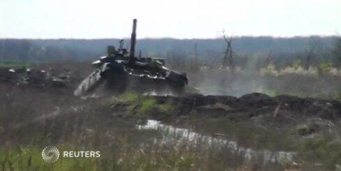 Tanku mācības Krievijā