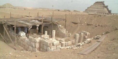 Ēģiptē atklātas jaunas kapenes