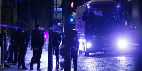 ФОТО: Чемпионский автобус сборной Франции стал объектом для шуток