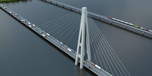 'Rail Baltica' Latvijas šķērsojuma vizuālais materiāls
