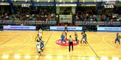 'Ventspils' basketbolistiem zaudējums sezonas ieskaņā