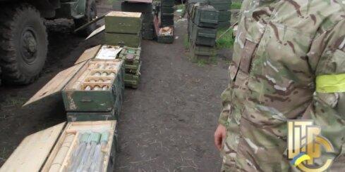 Ukrainas armija Slovjanskā atradusi lielus separātistu munīcijas krājumus