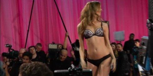 'Victoria's Secret' šova aizkadri