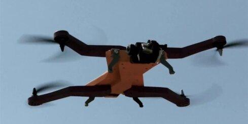 Latvijā radīts pasaulē pirmais bezpilotu lidaparāts, kas autonomi seko tā lietotājam