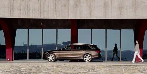 'Mercedes-Benz' jaunais C-klases universālis 'Estate'