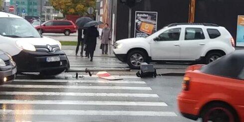 Autoavārija Brīvības ielā