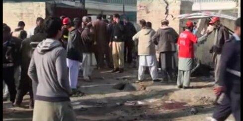 Pašnāvnieka-terorista sarīkotā sprādzienā Mardānā desmitiem nogalināto