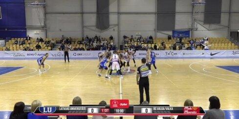 'OlyBet' basketbola līga: LU - 'Valga-Valka/ Maks&Moorits'. Pilns saraksta