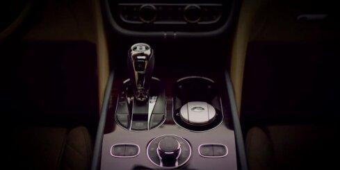 Pirmais ieskats 'Bentley' apvidnieka interjerā