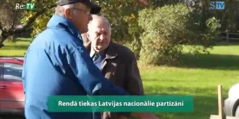 Rendā tiekas Latvijas nacionālie partizāni