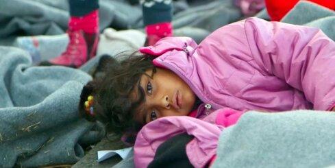 Bēgļu vidū ievērojami palielinās sieviešu un bērnu skaits