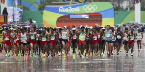 Riodežaneiro vasaras olimpisko spēļu rezultāti maratonā vīriešiem (20.08.2016)