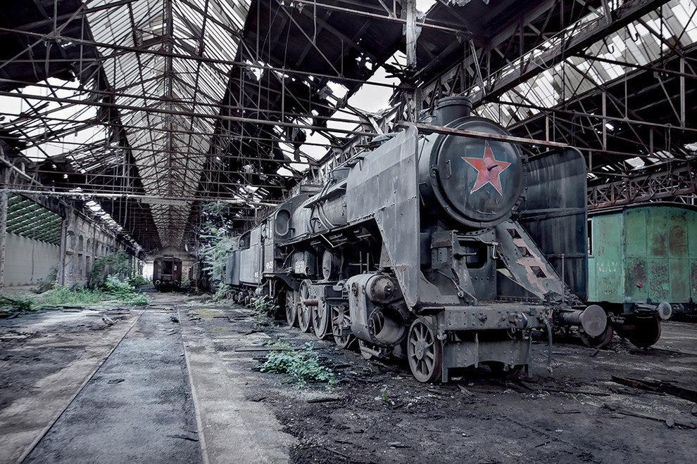 С опаской и любопытством: руины советской империи глазами западного фотографа