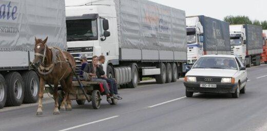 Россия реконструирует дорогу к таможенному пункту Бурачки-Терехово
