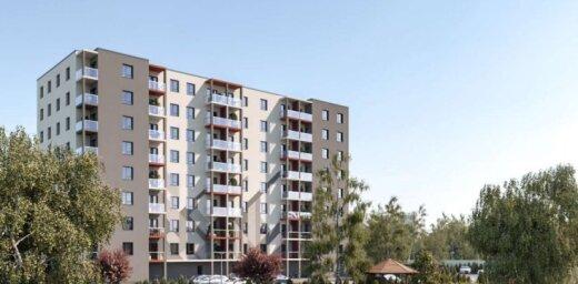 В Риге начнется строительство жилого комплекса из шести девятиэтажек