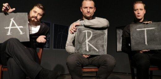 Nacionālajā teātrī pirmizrāde Jāņa Vimbas diplomdarbam – Jasmīnas Rezā 'Art'