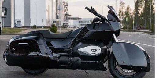 'Kalašņikov' radījis 'Iž' motociklu politiskās elites eskortēšanai