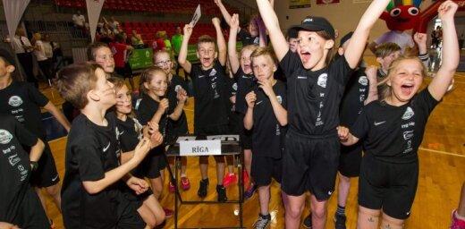 'Sporto visa klase': Prieka gaviles Zemgales olimpiskajā centrā