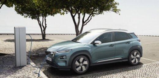'Hyundai' mazais apvidnieks 'Kona' tagad arī elektriskajā versijā
