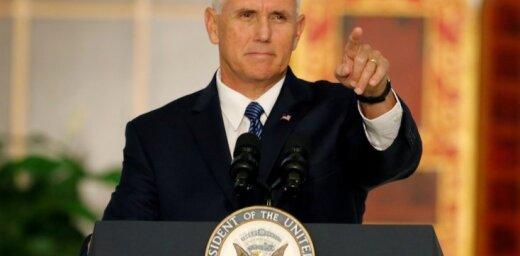 ASV nepieļaus Venecuēlas sabrukumu, apliecina Penss