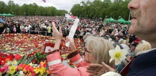 Концерты, шествия, салют. Как в Латвии будут отмечать 9 мая