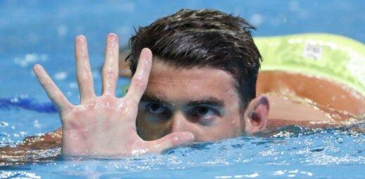 Самый титулованный в истории олимпиец отобрался на пятую Олимпиаду