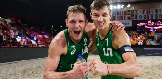 Pļaviņš/Točs izcīna Pelhržimovas CEV 'Masters' turnīra bronzu