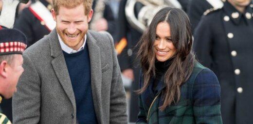 Prinča Harija līgava lauž karaliskās ģērbšanās tradīcijas