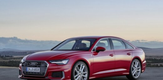'Audi' oficiāli atklājis jauno 'A6' modeli