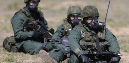 Вечеринка литовских военных закончилась таинственной смертью гранатометчика