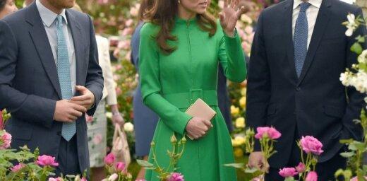 Kembridžas hercogiene Katrīna žilbina īpaši apburošā tēlā
